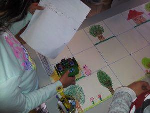 Turma do 3º e 4º ano da Escola Básica de Carapelhos.